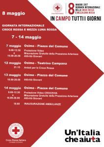 CRI Osimo-Giornata Internazionale CRI 2017 Programma
