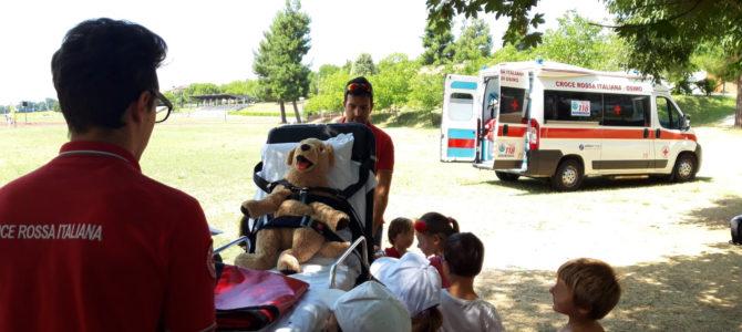 Al centro estivo con la Croce Rossa: Salviamo il Peluche!