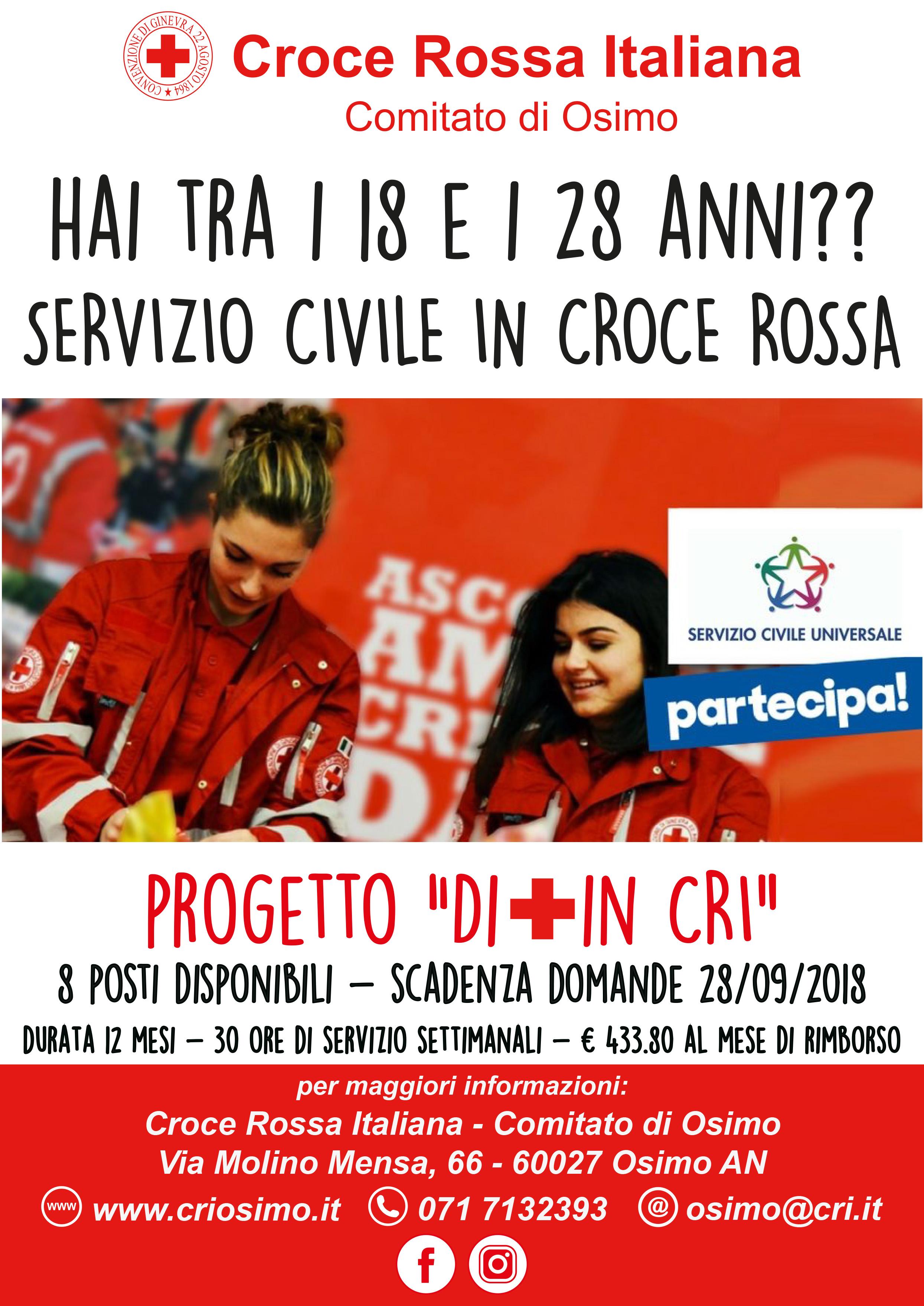 Servizio civile in Croce Rossa Osimo