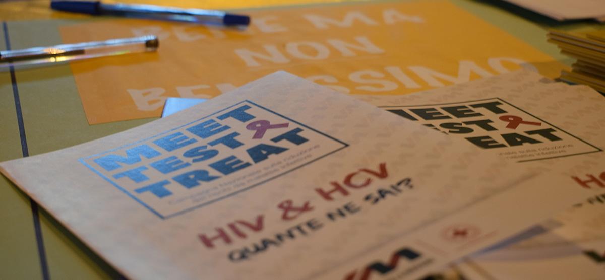 LA CRI OSIMO IN PIAZZA PER LA GIORNATA MONDIALE CONTRO L'AIDS CON IL NUOVO PROGETTO MEET TEST & TREAT