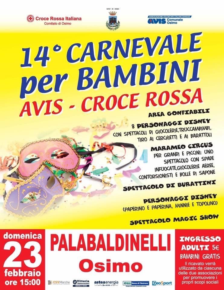 Carnevale AVIS – CROCE ROSSA
